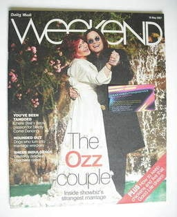 Weekend magazine - Sharon Osbourne and Ozzy Osbourne cover (19 May 2007)