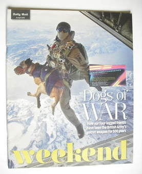 Weekend magazine - Dogs of War cover (24 April 2010)