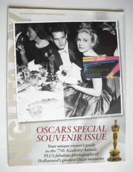 Night & Day magazine - Paul Newman and Joanne Woodward cover (27 February 2005)