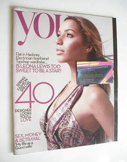 <!--2008-02-24-->You magazine - Leona Lewis cover (24 February 2008)