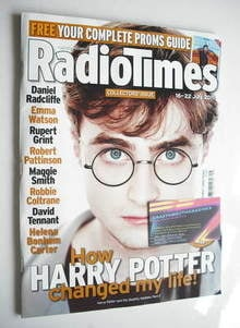 <!--2011-07-16-->Radio Times magazine - Daniel Radcliffe cover (16-22 July