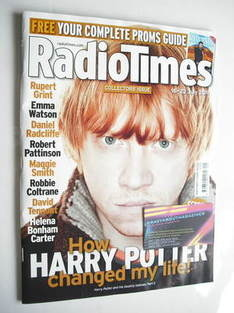 <!--2011-07-16-->Radio Times magazine - Rupert Grint cover (16-22 July 2011