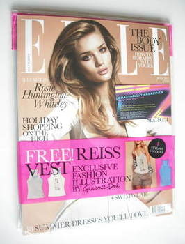 <!--2011-07-->British Elle magazine - July 2011 - Rosie Huntington-Whiteley