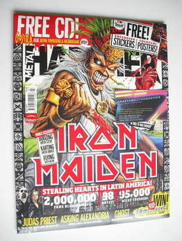 Metal Hammer magazine - Iron Maiden cover (July 2011)