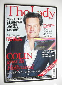 <!--2011-07-12-->The Lady magazine (12 July 2011 - Colin Firth cover)