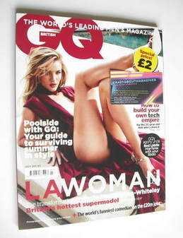 <!--2011-07-->British GQ magazine - July 2011 - Rosie Huntington-Whiteley c