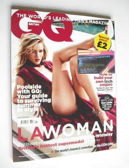 British GQ magazine - July 2011 - Rosie Huntington-Whiteley cover
