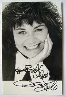 Dawn French autograph (hand-signed photograph)