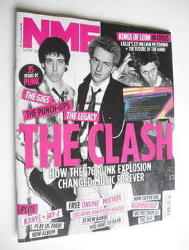 <!--2011-08-13-->NME magazine - The Clash cover (13 August 2011)