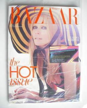 <!--2011-07-->Harper's Bazaar magazine - July 2011 - Claudia Schiffer cover