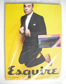 Esquire magazine - Robbie Williams cover (July 2011 - Subscriber's Issue)