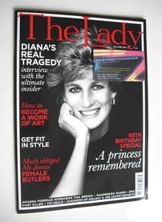 The Lady magazine (28 June 2011 - Princess Diana cover)