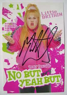 Matt Lucas autograph