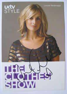 Louise Redknapp autograph