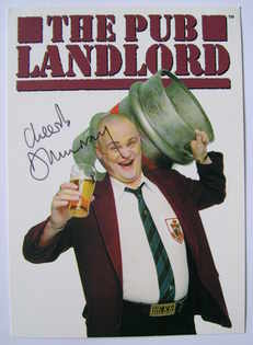 Al Murray autograph (hand-signed photograph)