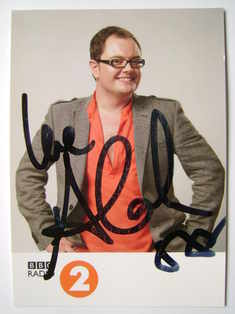 Alan Carr autograph (hand-signed photograph)