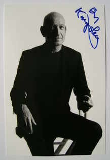 Ben Kingsley autograph (hand-signed photograph)