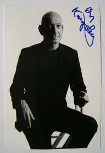 Ben Kingsley autograph (hand-signed photograph)