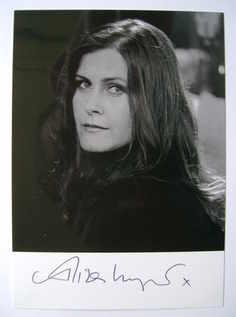 Alison Moyet autograph