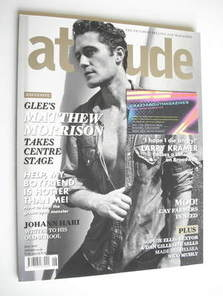 <!--2011-06-->Attitude magazine - Matthew Morrison cover (June 2011)
