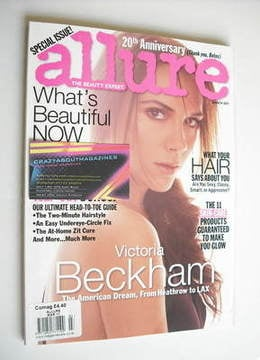 <!--2011-03-->Allure magazine - March 2011 - Victoria Beckham cover