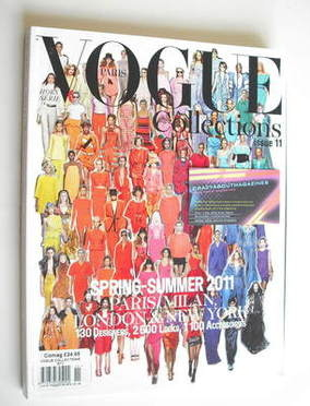 French Paris Vogue Collections magazine (Spring/Summer 2011 - Issue 11)