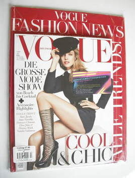 <!--2011-07-->German Vogue magazine - July 2011 - Natalia Vodianova cover