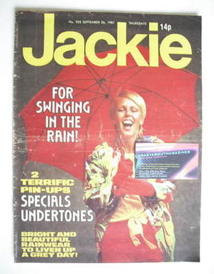 <!--1981-09-26-->Jackie magazine - 26 September 1981 (Issue 925)