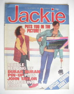 <!--1981-10-03-->Jackie magazine - 3 October 1981 (Issue 926)