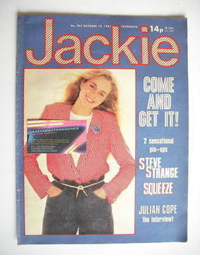 <!--1981-10-10-->Jackie magazine - 10 October 1981 (Issue 927)