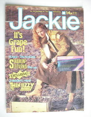<!--1981-10-24-->Jackie magazine - 24 October 1981 (Issue 929)