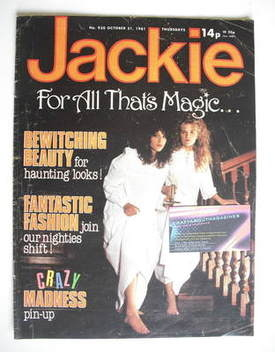 <!--1981-10-31-->Jackie magazine - 31 October 1981 (Issue 930)