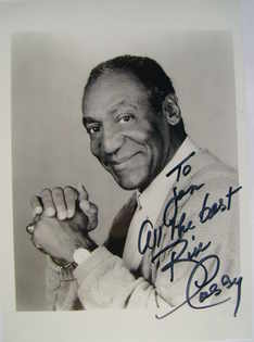 Bill Cosby autograph (hand-signed photograph, dedicated)