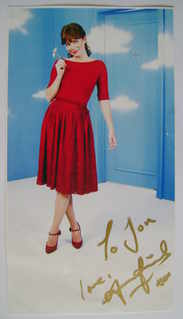 Anna Friel autograph (hand-signed photograph, dedicated)