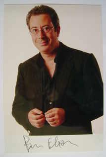 Ben Elton autograph (hand-signed photograph)