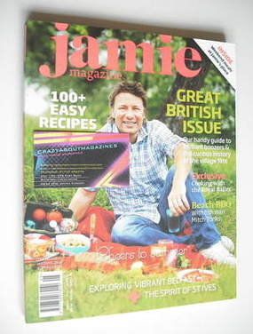 <!--0005-->Jamie Oliver magazine - Issue 5 (August/September 2009)