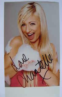 Chantelle Houghton autograph