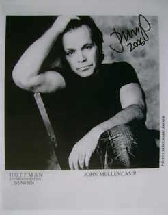 John Mellencamp autograph