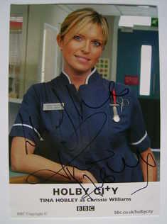 Tina Hobley autograph