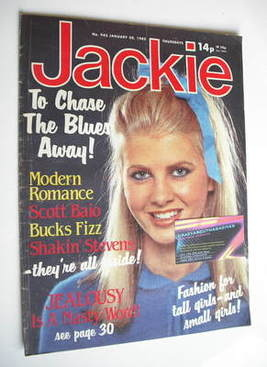 <!--1982-01-30-->Jackie magazine - 30 January 1982 (Issue 943)