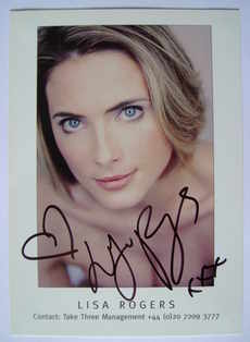 Lisa Rogers autograph