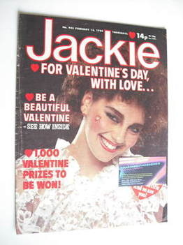 <!--1982-02-13-->Jackie magazine - 13 February 1982 (Issue 945)