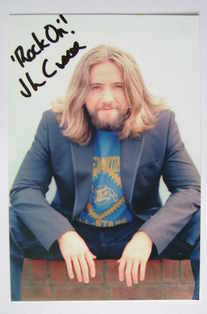 Justin Lee Collins autograph