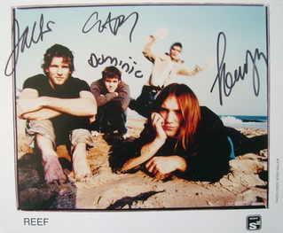 Reef autographs