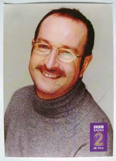 Steve Wright autograph