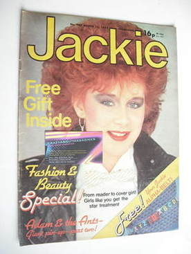 <!--1982-03-13-->Jackie magazine - 13 March 1982 (Issue 949)