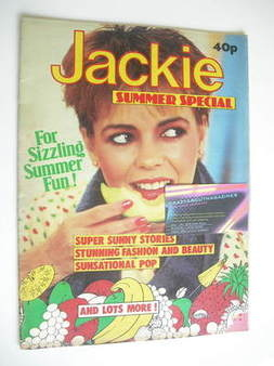 Jackie magazine - Summer Special 1982