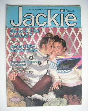 <!--1981-12-12-->Jackie magazine - 12 December 1981 (Issue 936)