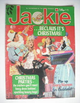<!--1981-12-26-->Jackie magazine - 26 December 1981 (Issue 938)