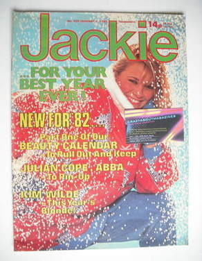 <!--1982-01-02-->Jackie magazine - 2 January 1982 (Issue 939)